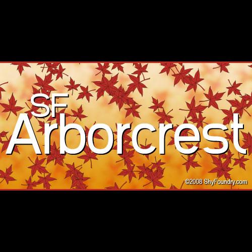 Arbor Crest: SF Arborcrest Medium